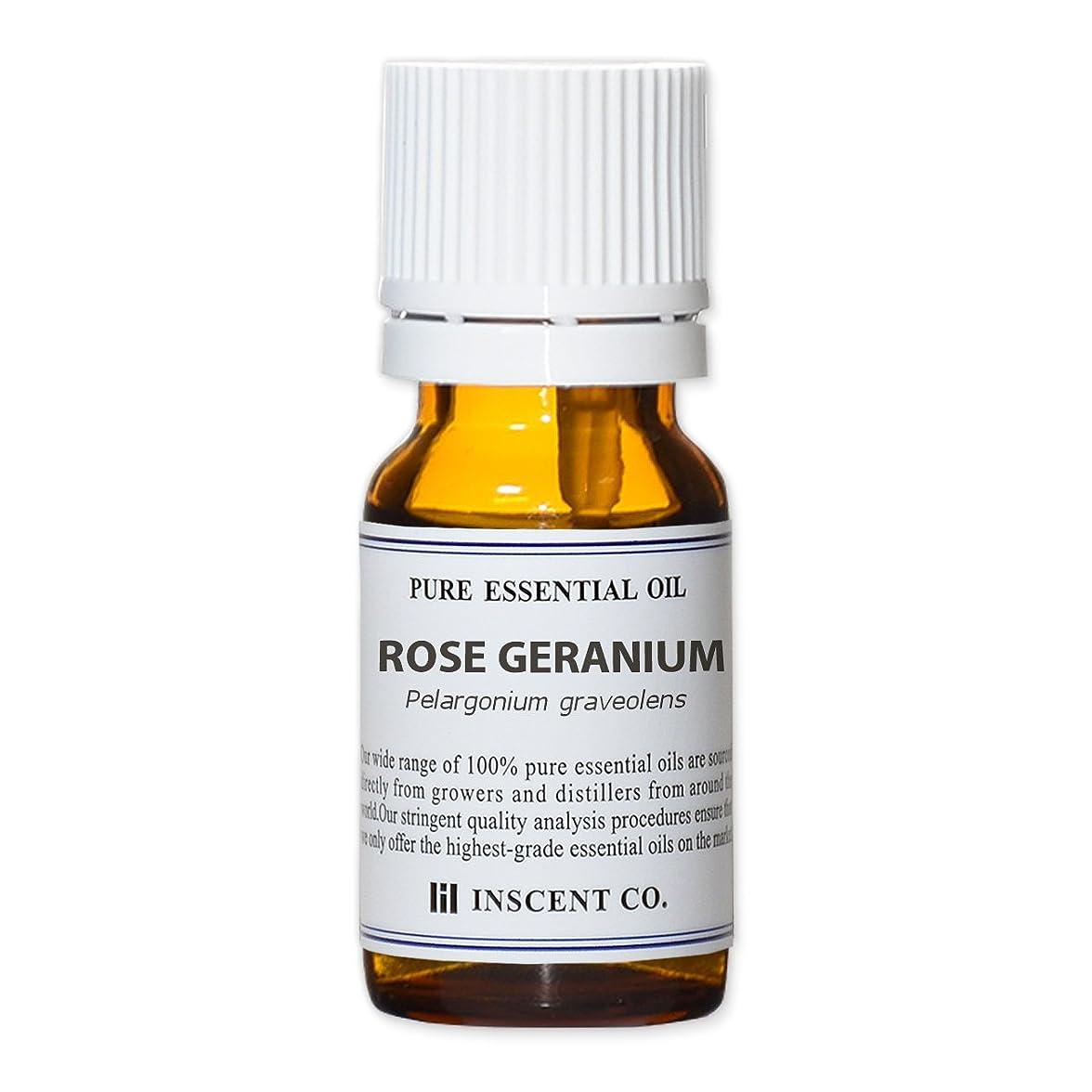 宝翻訳者腹部ローズゼラニウム 10ml インセント アロマオイル AEAJ 表示基準適合認定精油
