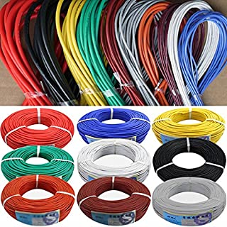 26 AWG Flexible Silicone Wire RC Cable 26AWG 30/0.08TS OD 1.5Mm Tinned Copper Wire With 10 Colors To Select 26 AWG Gray