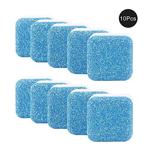GerTong - Pastillas de limpieza, limpiador de manchas efervescentes para lavadora, bañera, lavavajillas