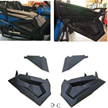 RZR Lower Half Door Inserts Panels with OEM Style Frame Works for 2015-2020 Polaris RZR XP 1000 / Turbo/S