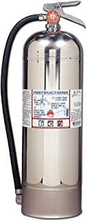 Kidde 466403 Pro 2.5 Water Fire Extinguisher, 2.5 Gallon, Stainless Steel