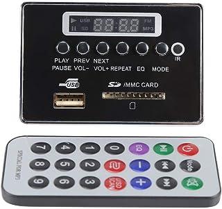 DC12V Bluetooth Audio Decoder Board Audio Modul USB SD TF FM Radio Lossless WMA / WAV / MP3 Decoder(12VBluetooth Schwarz)