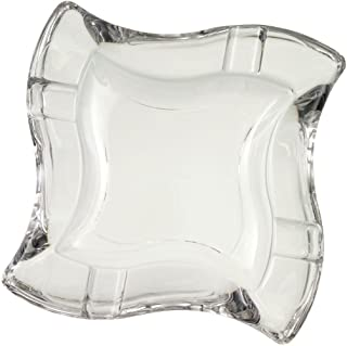Villeroy & Boch New Wave Ashtray, 16.9 x 16.9 cm, Crystal Glass, Transparent, 170 mm