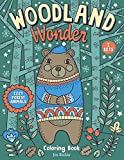 Woodland Wonder: Cozy Forest Animals Coloring Book