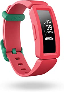 Fitbit Ace 2, Activity Tracker for Kids 6+, Watermelon + Teal