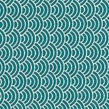 Fabulous Fabrics Dekostoff Canvas Wellen – Petrol —