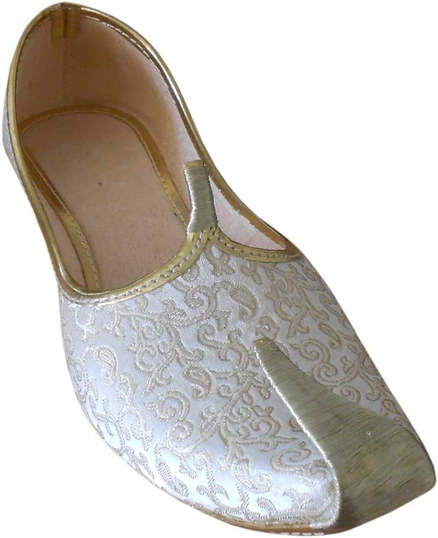 Kalra Creations Men's Traditional Indian Mojari Loafer Flat