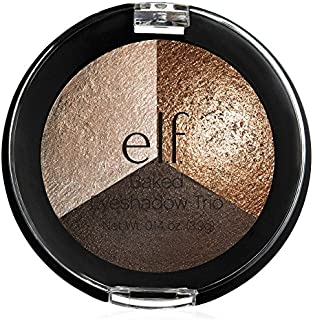 Elf Baked Eyeshadow Trio Brown Bonanza