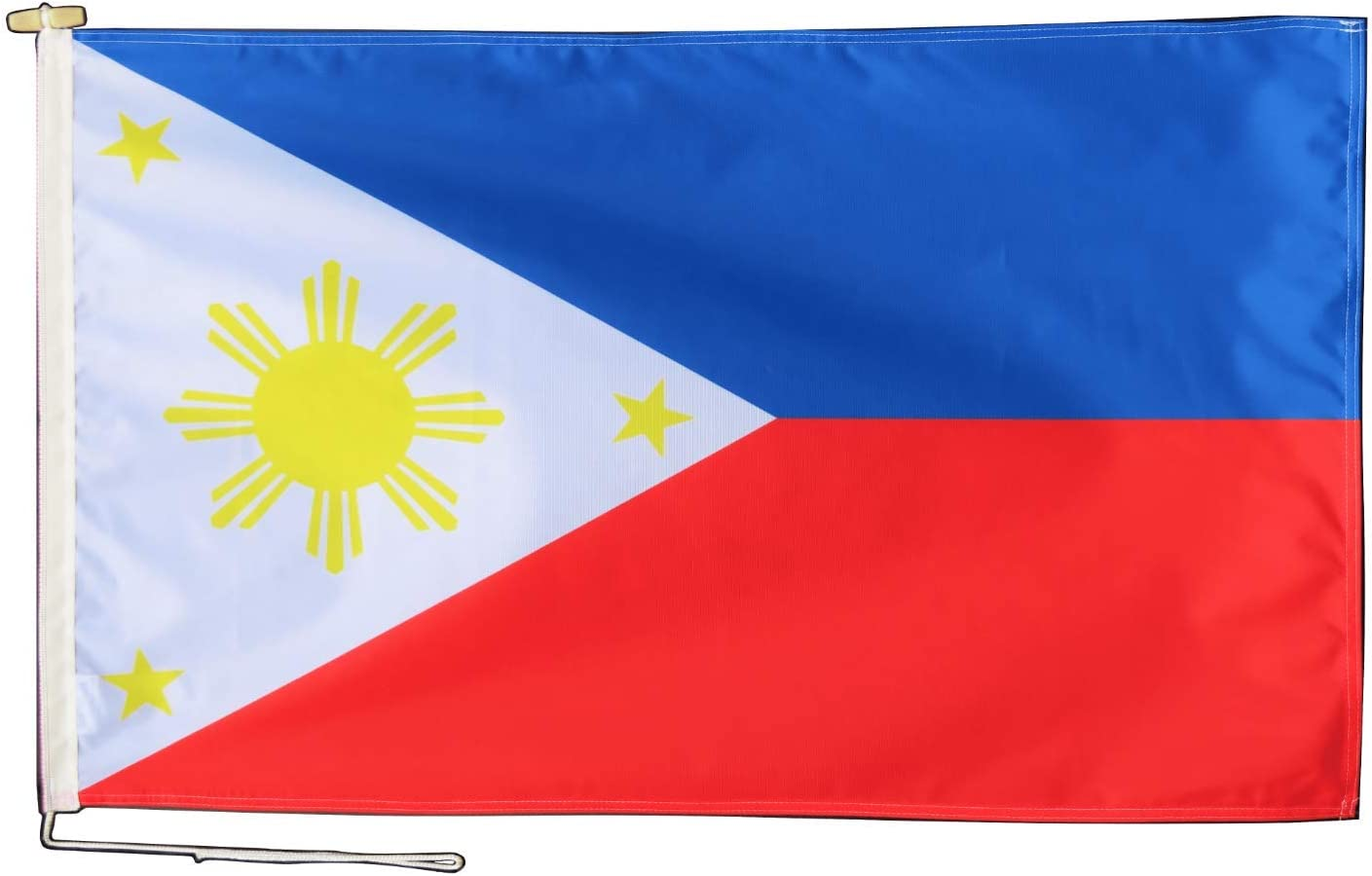 1000 Flags Limited Philippines Flag with Rope and Vario Toggle - Branded goods Sale