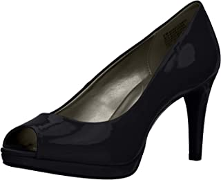 Best black patent leather open toe pumps Reviews