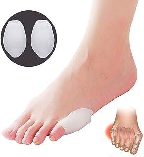 Almohadilla para juanetes y separador de dedos, 2 unidades para aliviar el dolor de los