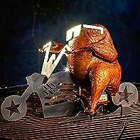 🔥🐔🔥Fabriqué en matériau de haute qualité, durable et durable. 🔥🐔🔥 Imaginez à quel point vos amis seront impressionnés lorsque vous vous présenterez avec cette moto Freedom RIDER! 🔥🐔🔥 Outil de barbecue parfait pour les fêtes d'arrière-cour, cadeau de ...