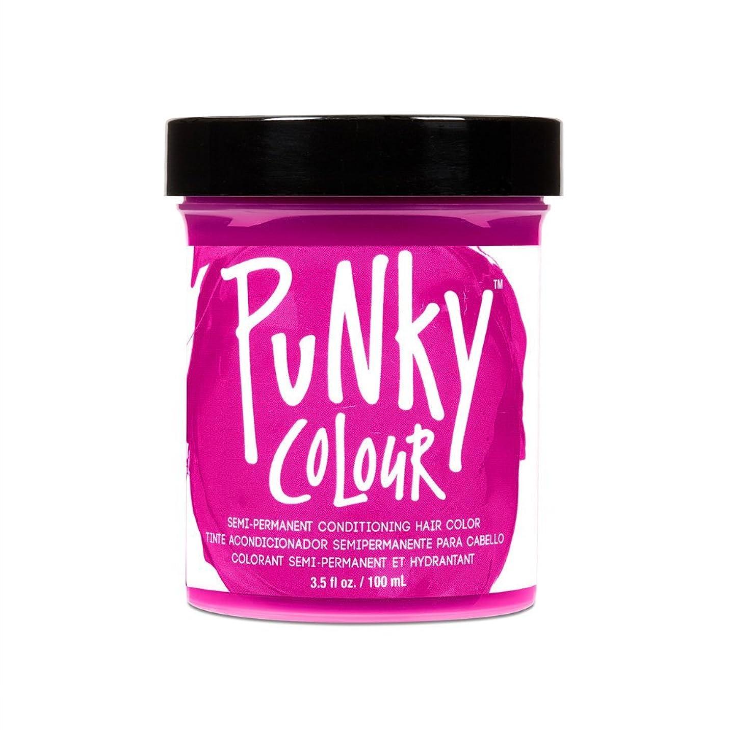 満足安心前部JEROME RUSSELL Punky Color Semi-Permanent Conditioning Hair Color - Flamingo Pink (並行輸入品)
