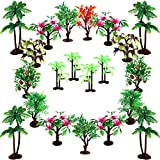 "Upgrade Trees Cake Decorations, OrgMemory Model Trees with Bases, (19pcs, 3""-5.5""/7.5-14 cm), Ho Scale Trees, Diorama Supplies for Crafts or Cake Decorations"