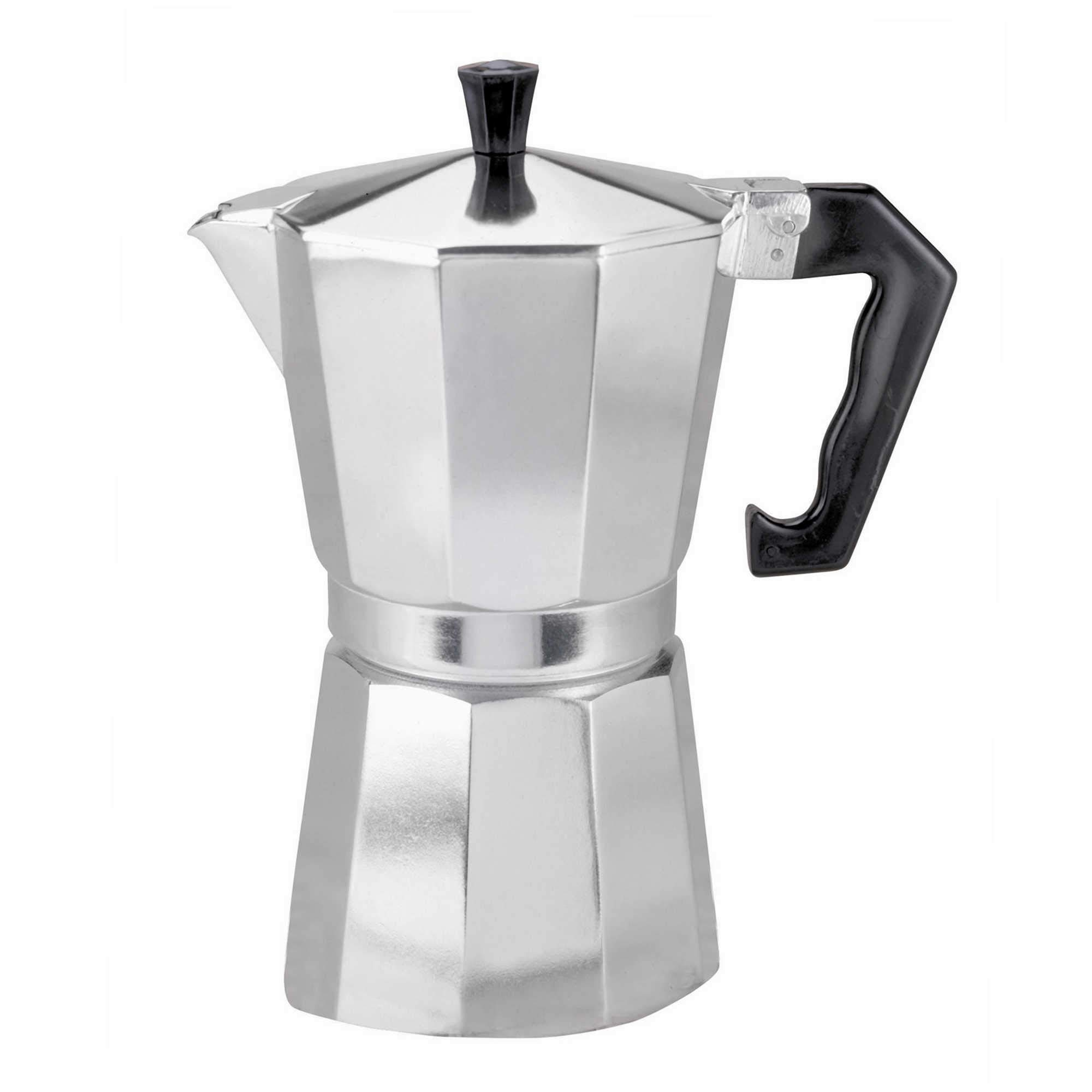 9 taza cafetera italiana de estilo Expresso para uso en GAS ELÉCTRICO Y Cerámica fuegos: Amazon.es: Hogar