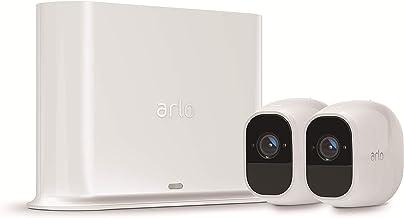 Arlo Vms4230P-100Eus Pro 2 Security-Bewakingscamera, 1080P, Wit. 2 Camera Kit