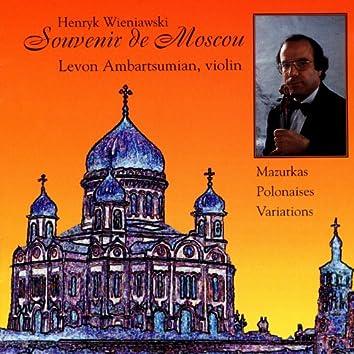 Henryk Wieniawski: Souvenir de Moscou