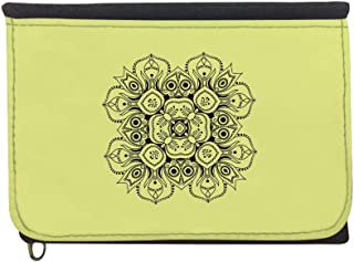 Decorative Drawings - Rose Printed Case Wallet,  jeans