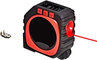 Digital Tape Measure - 2018 Newest 3 in 1 LED Digital Display Laser Measure King Multifunction Roller Measuring for Home Outdoor Camp Work All and Any Surfaces