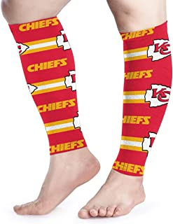 Sorcerer Custom Colourful Sports Leg Sleeves Tennessee Titans Football Team Calf Support Leg Compression Socks Calf Pain Relief Teen for Men Women 1 Pair