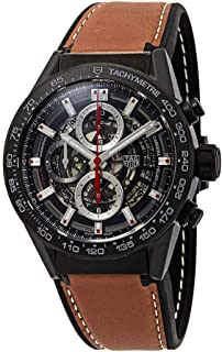 Carrera Chronograph Automatic Mens Leather Watch CAR2090.FT6124