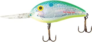 Pradco Bomber Fat Free Fingerling Fishing Lure (Chartreuse Blues, 2 3/8-Inch, 6.09-cm)