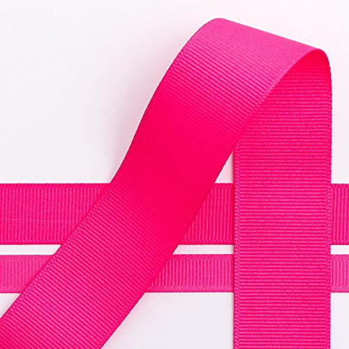 Grosgrain-Band in Pink, 25 mm x 10 m