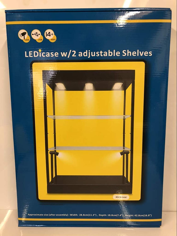 están haciendo actividades de descuento Triple 9 boite-vitrine Show-Case Show-Case Show-Case 6x LED Escala 1 43, T9, 69927, plexiglás  la red entera más baja
