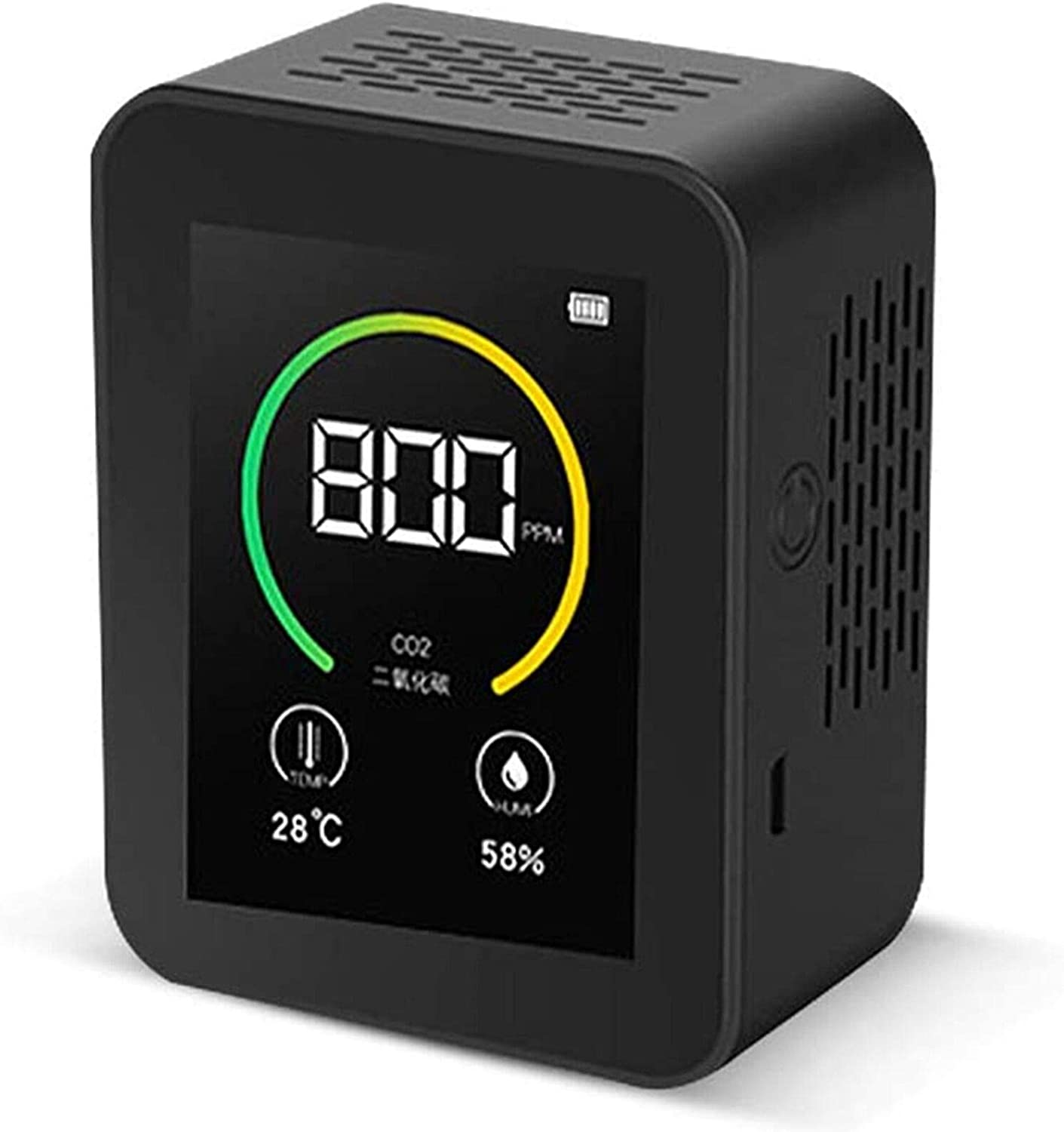 100% quality warranty Air Quality Monitor USB Carbon Combo Dioxide Detector CO mart 3-In-1
