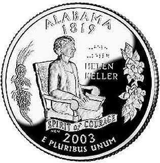 2003 S Alabama State Proof Quarter PF1 US Mint