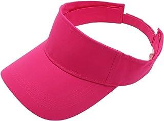 Top Level Sun Sports Visor Men Women - 100% Cotton Cap Hat 253d6ad65750
