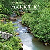 Alabama, Wild & Scenic 2021 7 x 7 Inch Monthly Mini Wall Calendar, USA United States of America Southeast State Nature