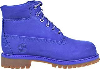 Timberland 6 Inch Premium Waterproof Little Kids/Preschool Boots Blue