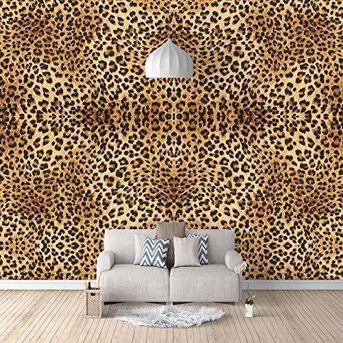 Fototapete Leopard 250x175cm Tapete Fototapeten Vlies Tapeten Vliestapete Wandtapete moderne Wandbild Wand Schlafzimmer Wohnzimmer Architektur