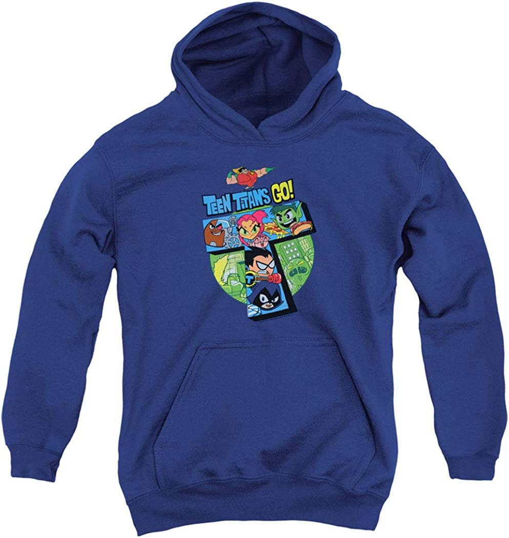 Teen Titans Go! Adult Kids Youth Pullover Hoodie  Stickers