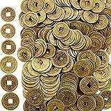 Boao Chinesische Feng Shui Münzen Glück Münzen I-Ching Münzen für Gesundheit und Reichtum (200, 0,8 Zoll und 1 Zoll)