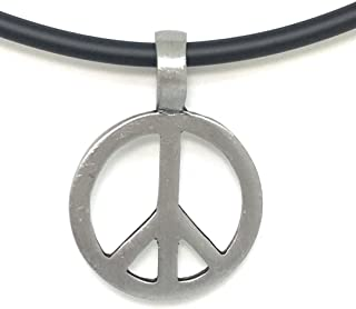 Peace Sign Love Necklace