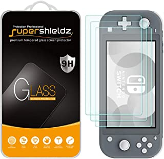 (3 Pack) Supershieldz Designed for Nintendo (Switch Lite) 2019 Tempered Glass Screen Protector, 0.33mm, Anti Scratch, Bubb...