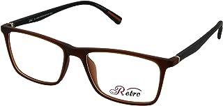 RETRO Unisex-adult Spectacle Frames Rectangular 5603 M.Brown/Black