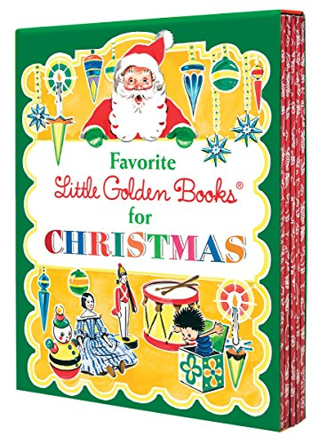 Favorite Little Golden Books for Christmas 5-Book Boxed Set: The Animals' Christmas Eve; The Christmas Story; The Little Christmas Elf; The Night ... The Poky Little Puppy's First Christmas