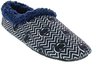 Happy Feet & Comfy Feet Mens and Womens Officially Licensed NCAA College Chevron Slip On