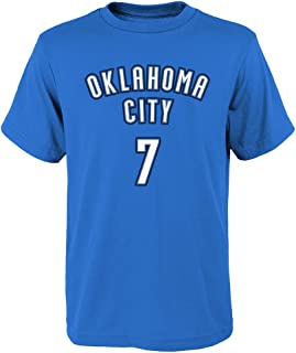Outerstuff Carmelo Anthony Oklahoma City Thunder #7 Blue Youth Name & Number T-Shirt