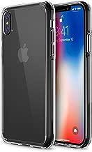 iVoler Cover Compatibile con iPhone XS/iPhone X/iPhone 10 5.8 Pollici, Silicone Case Molle di TPU Trasparente Sottile Custodia