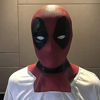 WXYXG Halloween Knight Mask Villain Wig Male Movie Cosplay Mask Halloween Props