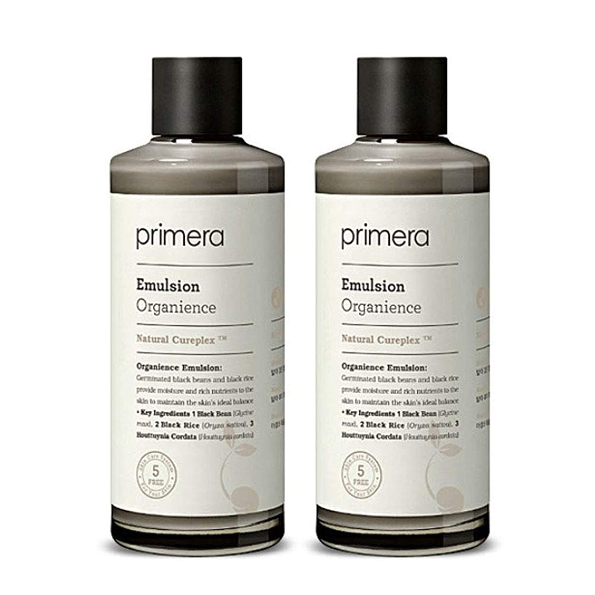 促すテクスチャー滅多プリメラオカニオンスエマルジョン150ml x 2本セット、Primera Organience Emulsion 150ml x 2ea Set [並行輸入品]