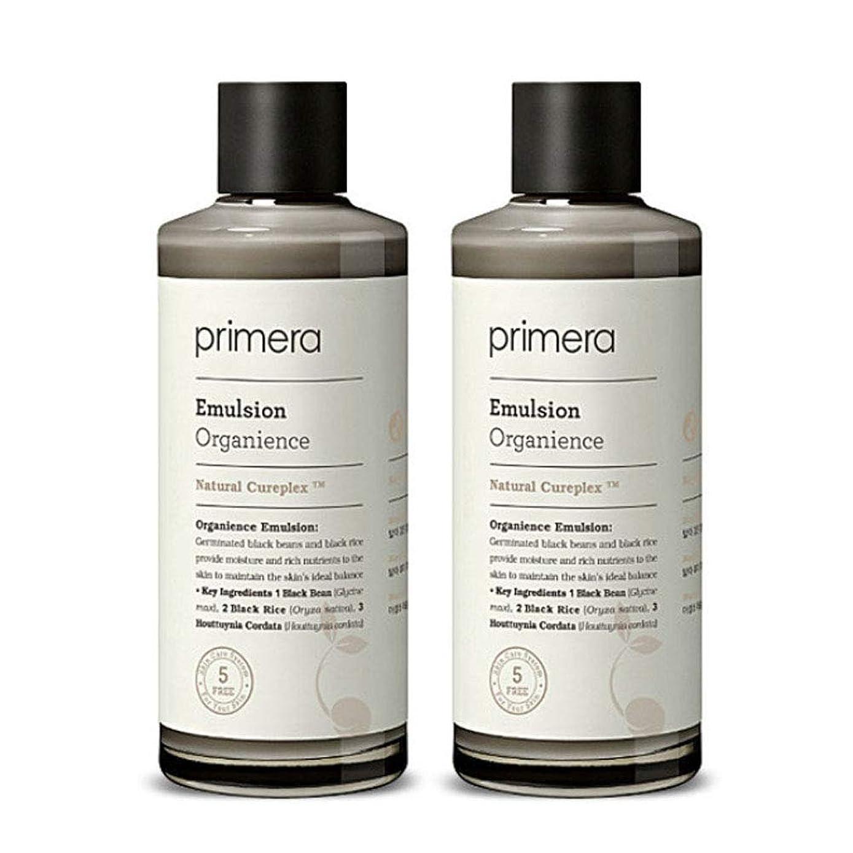 ベースムス冷笑するプリメラオカニオンスエマルジョン150ml x 2本セット、Primera Organience Emulsion 150ml x 2ea Set [並行輸入品]