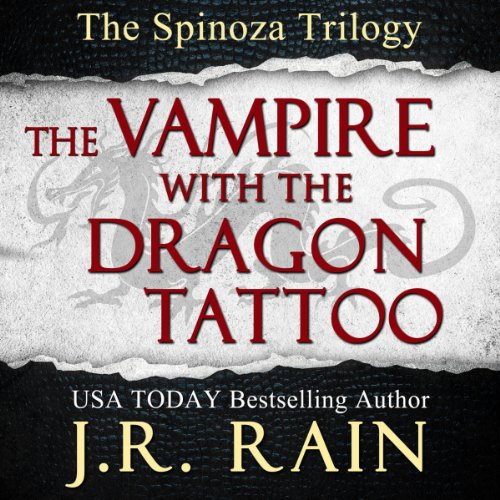 The Vampire With the Dragon Tattoo audiobook cover art