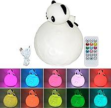 Cadillaps Tischlampe Tiere Nachttischlampe f/ür Kinderzimmer LED Nachtlicht Schreibtisch Lampe
