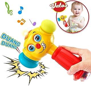 VATOS Bebé Martillo Juguete Bebé Juguetes Ligero y Musical