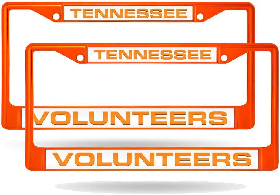 Rico Tennessee Volunteers Set of Laser Orange 2 Painted Metal San Francisco Mall New products world's highest quality popular